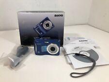 Sanyo VCP-S1080 10mp Digital Camera - Blue