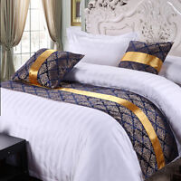 Elegance Bed Runner Bedding Slipcover Bed Towel Cotton Pillowcase Hotel Covers