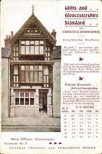 Cirencester. Wilts & Gloucestershire Standard Newspaper Head Office.