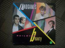 ENDGAMES---BUILDING BEAUTY--VINYL ALBUM  PROMO COPY.