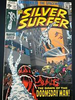 Silver Surfer #13, FN+ 6.5, First Appearance Doomsday Man