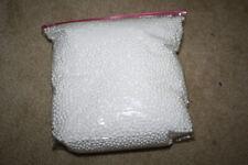 Polystyrene Styrofoam White Foam Balls Beads for Slime - 1 Gallon Bag Free Ship