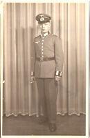 Vintage Foto AK 2. Weltkrieg / Soldat - 1940er