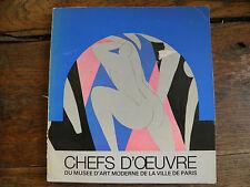 Chefs d'oeuvre du musée d'art moderne de la ville de Paris