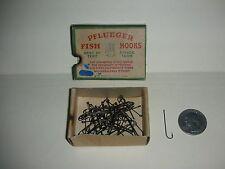 Vintage Pflueger Carlisle Fishing Hooks - No. 3321-Br - Size 10 - Bronzed  (N 2)