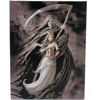 Fantasy Gothic Art Canvas Wall Plaque~Summon the Reaper~Anne Stokes~N~uk seller