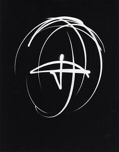 Barbara MORGAN: Samadhi-Light Drawing, 1940 / Silver Print / Ptd 1979 / SIGNED!