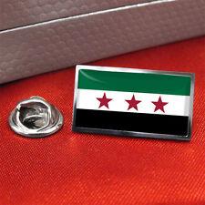Free Syria Flag Lapel/Tie Pin Badge