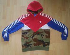 Adidas Colorado Hoodie Gr. M Rot blau weiß camouflage Firebird palace calabasas