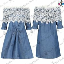 3/4 Sleeve Floral Dresses for Women with Belt
