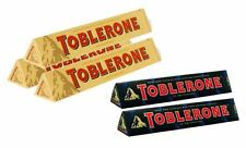 Toblerone Irresistible Smooth Chocolate Swiss Switzerland (100g X 5) Dark & Milk