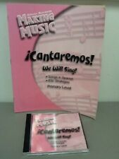 Silver Burdett Making Music: iCantaremos! CD and Teachers Guide, ESL Strategies