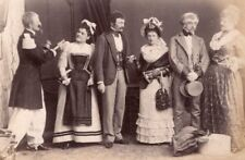 Family Sunday Party Costume Meudon France Photo 1902
