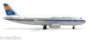 Herpa 512671 Cyprus Airways Airbus A320-200 1:500 Scale Diecast Mint in Box