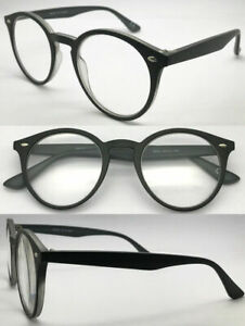 S226 Stylish Vintage Reading Glasses/Metal Hinges & Popular Retro Round Designed
