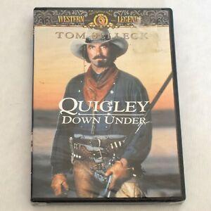 Quigley Down Under Tom Selleck Alan Rickman Widescreen DVD 1990 New