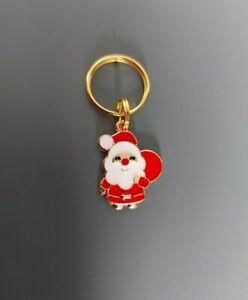 CHRISTMAS Dog Cat Collar Charm - Father Christmas Santa