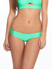 * NWT  $55  BODY GLOVE  SMOOTHIES  VERDE  RUBY LOW RISE   SMALL   BOTTOMS ONLY  *