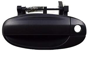 Black Textured Exterior Outside Front Left Driver Door Handle For Chevy Pontiac