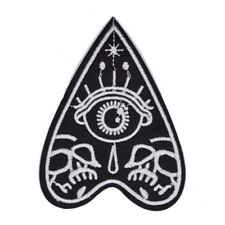"Mystifying Oracle Evil Eye EMBROIDERED PATCH - 4.25x3"" spooky occult pagan ouija"