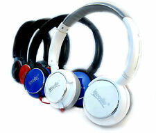 HeadPhones Adjustable Over Earphones DJ Style With Extra Bass For Samsung Iphone
