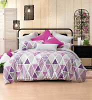 Bianca Lexi Grape Doona|Duvet|Quilt Cover Set