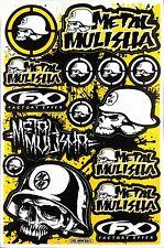 Metal Mulisha Rockstar Energy Sticker Bike MTB Motocross Vinyl Decal Graphic T22
