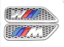 BMW M sport Car Fender Sticker Side Wing Badge Emblem Decal Sticker Msport logo