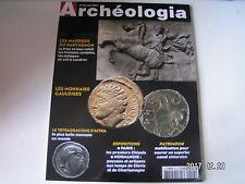 **c Archéologia n°412 Les monnaies Gauloises / Marbres du Parthénon