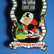 Disney Soda Fountain Pin Queen of Hearts Easter LE 300 Alice in Wonderland DSF