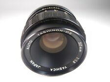 LENS YASHICA YASHINON-DS 1:1,9/50 mm M42 SCREW TOP LENS CLEAN SCRATCHFREE