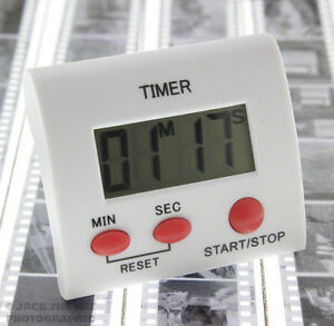 DT-1 Digital Darkroom Timer for Film Processing & Print Developing. Easy to Read