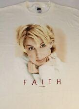 Vintage Faith Hill Tour 1998 T - Shirt - Cream Color Lg or Xl Brand New