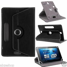 "Universal Rotating 360 Degree Leather Case Cover for 7"" inch Tablet PC Tablets"