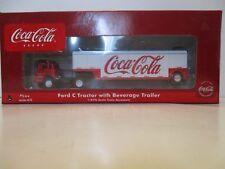 Ho Athearn Coca Cola, Ford C with trailer, Rare,New