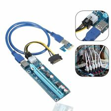 PCI-E 1x to 16x Powered USB3.0 GPU Riser Extender Adapter Card Ethereum Mining