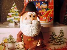 "Island of Misfit Toys Santa Clause 4.5"" tall Brown for Loving Family Dollhouse B"