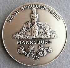 Braubach (Rhein), Stadt Silbermedaille o.J.Heinrich-Schlusnus-Medaille in Silber