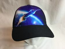 Above and Beyond Boeing Cap  Hat Adjustable Gently Used space orbit