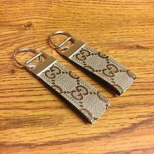 Tan Designer Keychain Custom