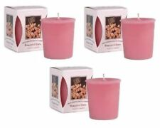 Bridgewater Pack of 3 Bouquet of Roses Votive Candles