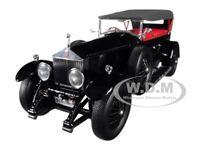 ROLLS ROYCE PHANTOM I BLACK 1/18 DIECAST MODEL CAR BY KYOSHO 08931 BK