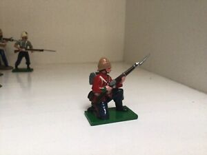 Trophy of Wales. British 24th Foot. Anglo Zulu War. 54 mm toy Soldier
