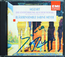 Sabine Meyer firmato Mozart il rapimento dal scandalose ARMONIA MUSICA CD EMI
