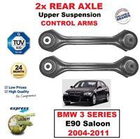 2x Posteriore Asse Destro Sinistro Controllo Superiore Braccia Per BMW 3 Serie