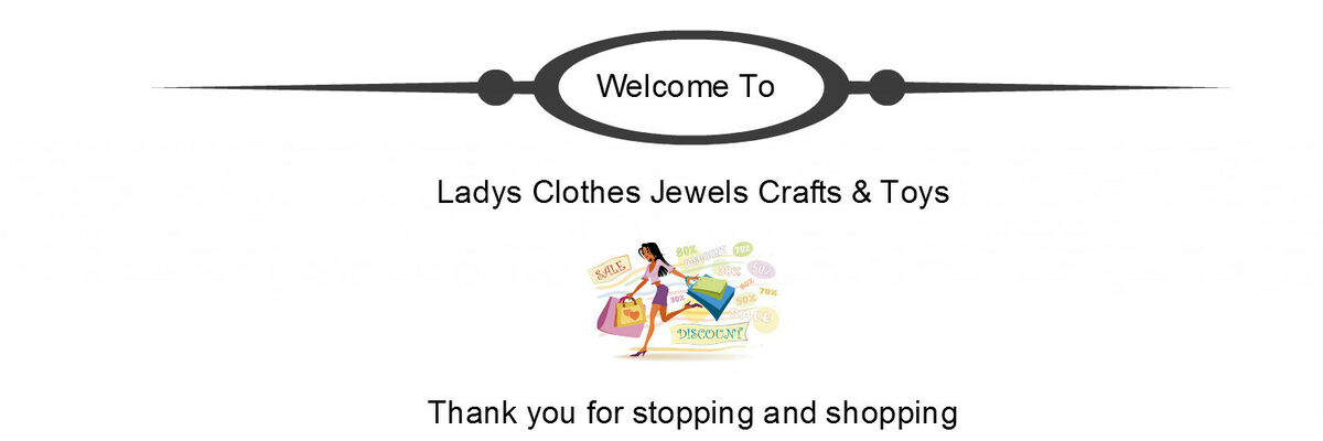 Ladys Clothes Jewelry Crafts & Toys