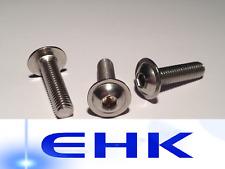 Linsenkopfschrauben mit Flansch M3/M4/M5/M6/M8/M10/M12 ISO 7380-2 V2A Edelstahl