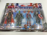 Avengers Endgame 16cm Action Figure Thor Hulk Captain America Marvel