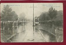 Vintage Postcard Ealing Common - Record Rainfall June 1903