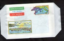 ITALIA AEROGRAMMA PAR AVION CINQUANTENARIO 2°TRASVOLATA ATLANTICA 1983